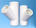 Spears PVC Fittings and Flexible Pipe, Wye